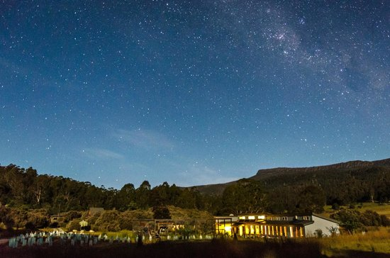 Forest Walks Lodge: Under the southern night sky