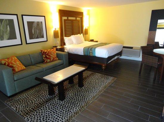 بارادايس بوينت ريزورت آند سبا:                   our room                 