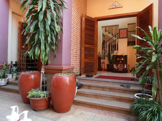 Neth Socheata Hotel:                   Leave your shoes at the door to the lobby
