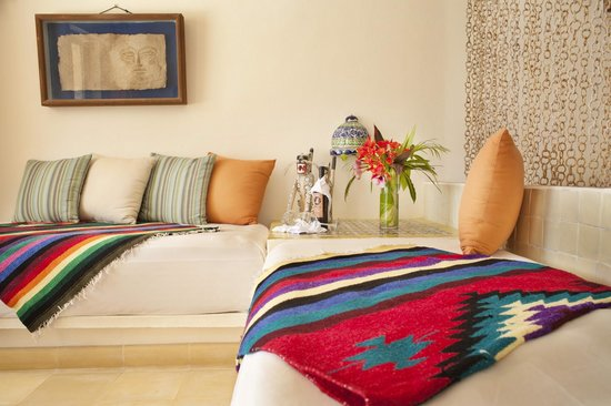 Las Ranitas Eco-boutique Hotel: The style and presence of Mexico in our rooms.