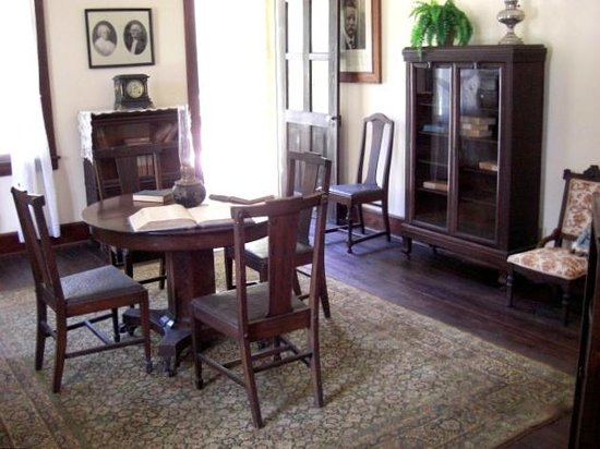 Koreshan State Historic Site: Dining Room inside the main house