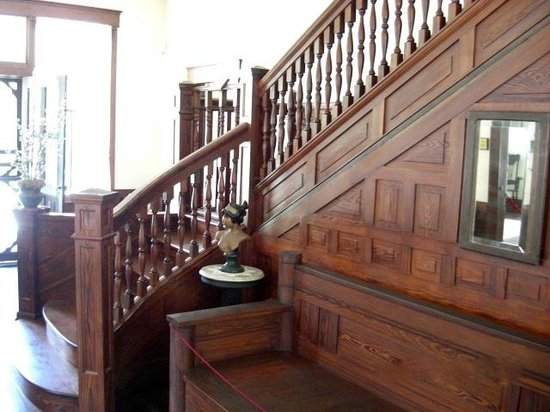 ‪‪Koreshan State Historic Site‬: The Main Stairs‬