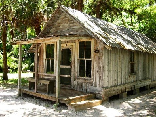 Koreshan State Park: One of the little shacks around the compound