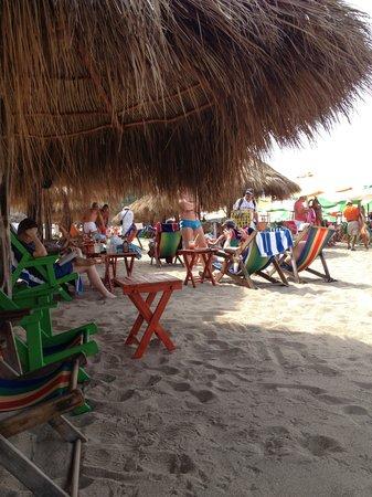 Ritmos Beach Cafe:                   Palpas