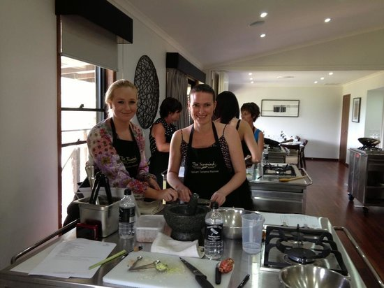 Spicers Tamarind Retreat:                                     Cooking up a Storm :)
