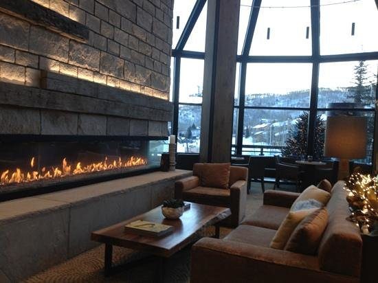 The Westin Snowmass Resort:                   new lobby area