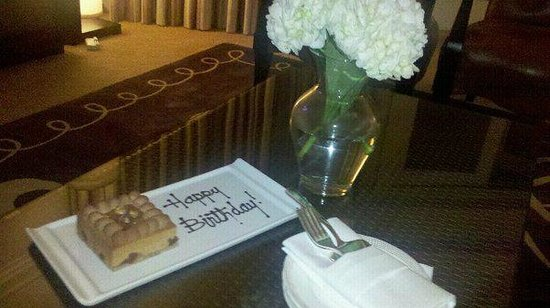 Monarch Beach Resort:                   A Surprise Happy Birthday Treat Waits for me in the Suite