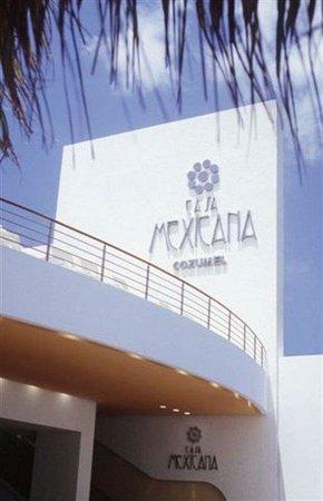Casa Mexicana Cozumel: Front CASMEX