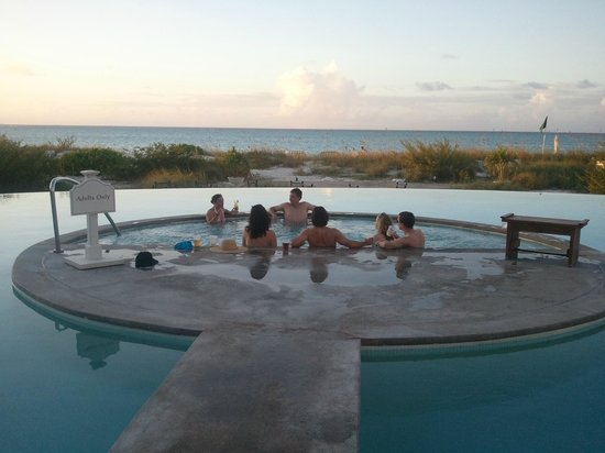 La Vista Azul Resort: IN THE HOT TUB