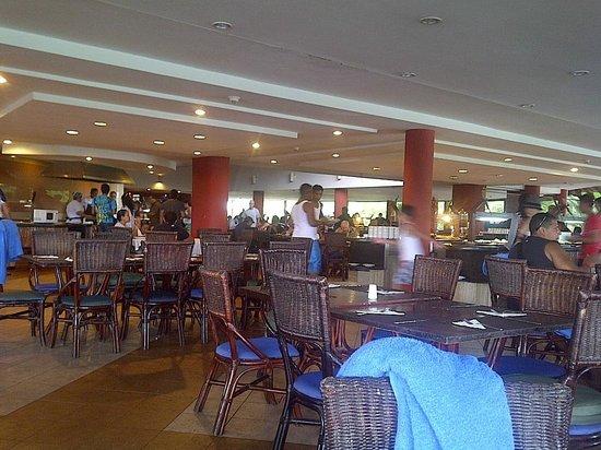 Hesperia Playa El Agua:                   restaurant principal