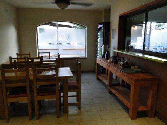 Hotel Vientos del Sur: Sala de desayuno