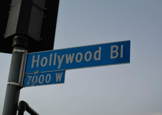 The Garland: Hollywood bl sign