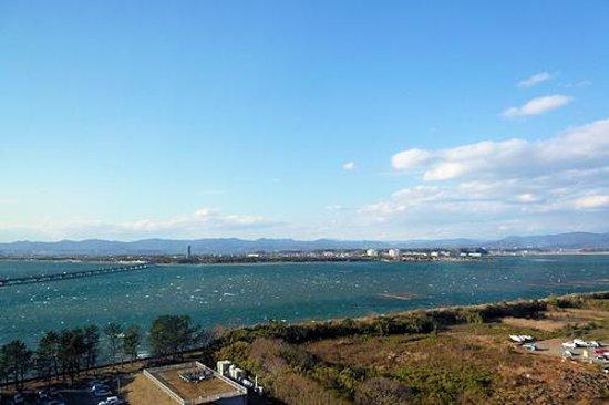 Hamanako Royal Hotel :                   客室からの眺め