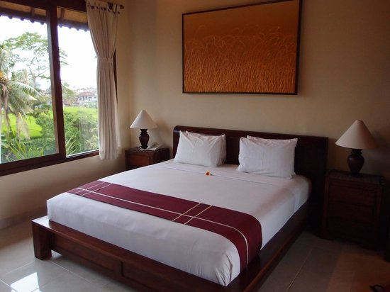 Sri Bungalows: 2 double beds at the second floor.