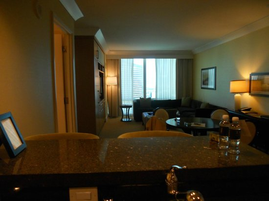 Trump International Hotel Las Vegas:                   our suite