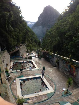 Hot Springs (Aguas Calientes) : The view is the only good thing about this place.