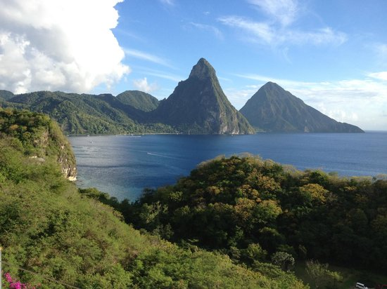 Jade Mountain Resort:                   Another great view!