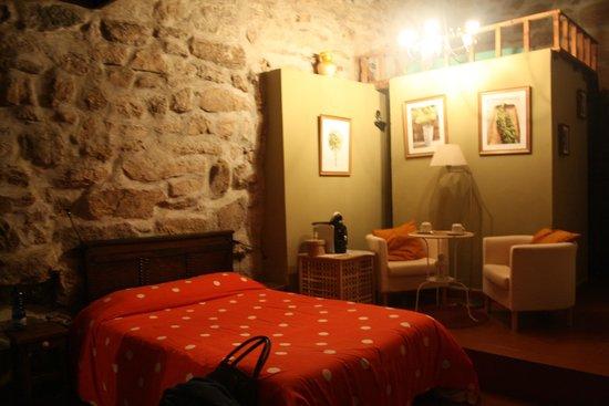 Caserio da Castiñeira: Dormitorio