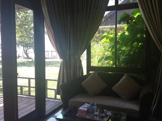 Arcadia Phu Quoc Resort:                                     view from inside bungalow