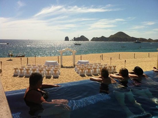 Hotel Riu Palace Cabo San Lucas:                                     Not a bad place to get married!!