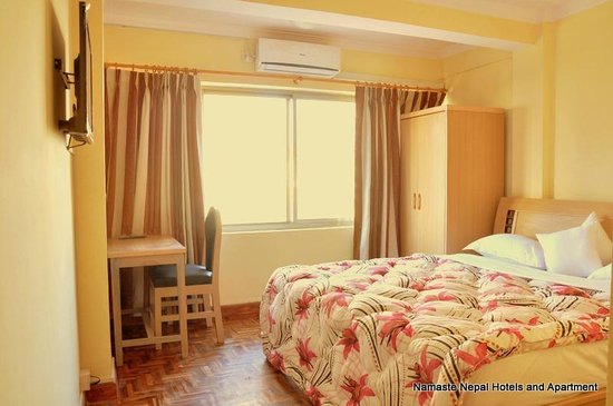 Namaste Nepal Hotels and Apartment: Deluxe Bedrooms