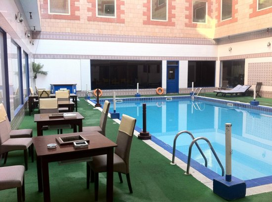 Ramee Guestline Hotel Qurum - Oman: View from the Breakfast area