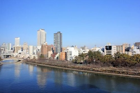 Osaka Castle Hotel:                   客室からの眺め