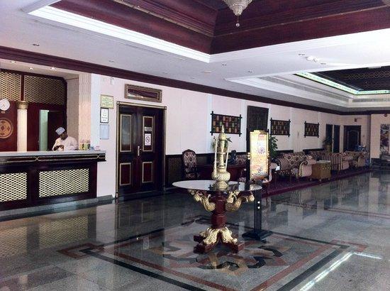 Ramee Guestline Hotel Qurum - Oman: The hotel lobby