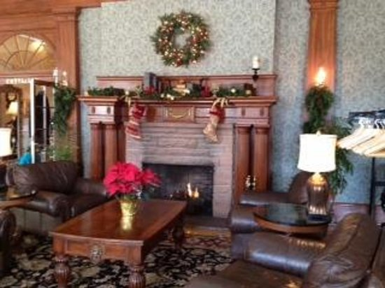 Stanley Hotel:                   Fireplace