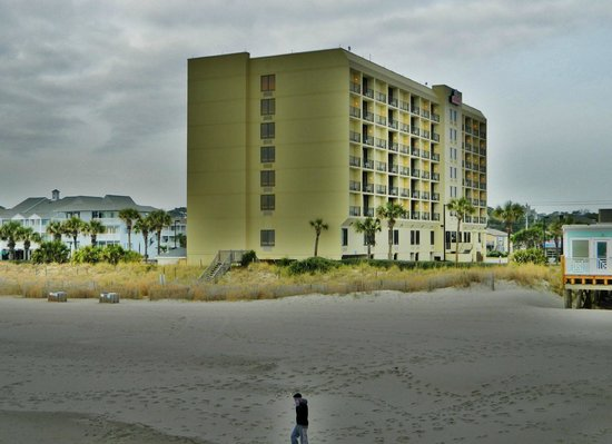 Surfside Beach Resort:                   From the beach