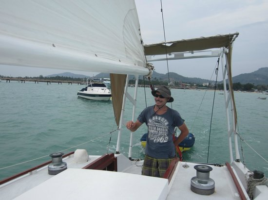SweetDreamers Charters - Private Day Trips:                   Captain Igor at the helm!