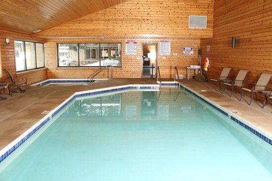 Acorn Lodge : Indoor Heated Pool & Spa