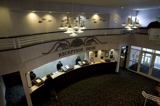 Hallmark Resort:                                     Check in