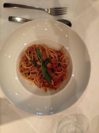 La Grappa Ristorante : Cooked perfectly, but salty