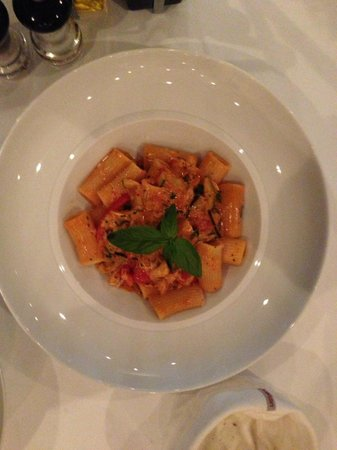 La Grappa Ristorante: This plate is over cooked