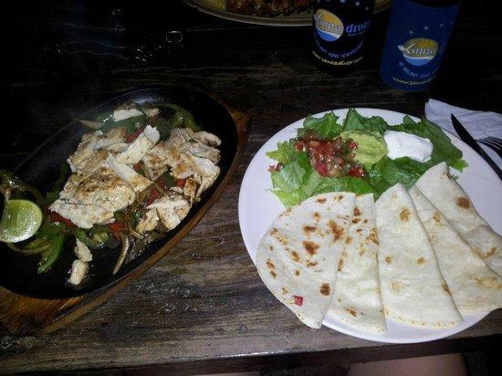 Tavern:                   Fajitas