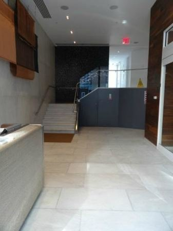 The James New York: The entrance foyer