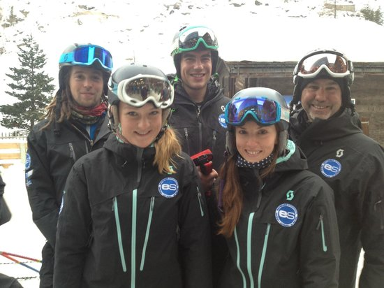 European Snowsport Zermatt Ski School: Friendly People