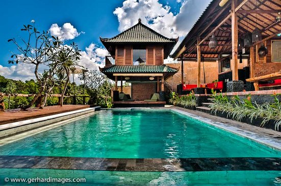 Villa Surya Abadi: Swimming pool
