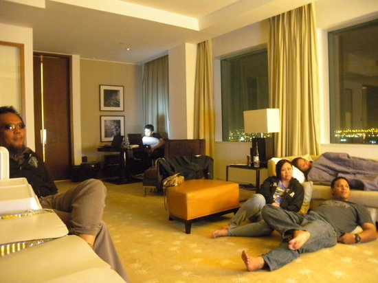 InterContinental Dubai Festival City: Living room in Suite with 2 bedroom.