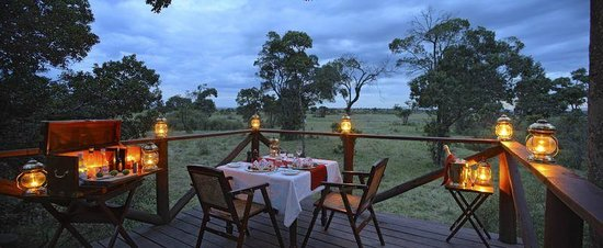 Elephant Pepper Camp : Panorama Deck Dining