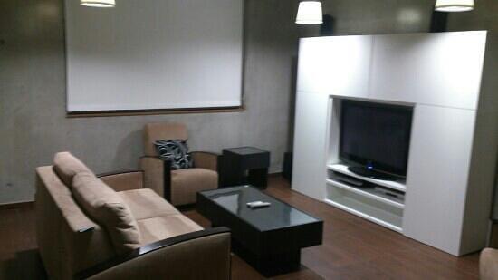 Olivarius Apart'Hotel :                                     salon appartement disco