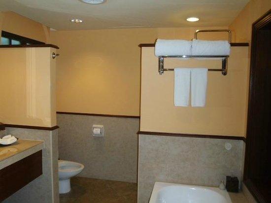 Casa del Mar, Langkawi:                   Pool view room bathroom