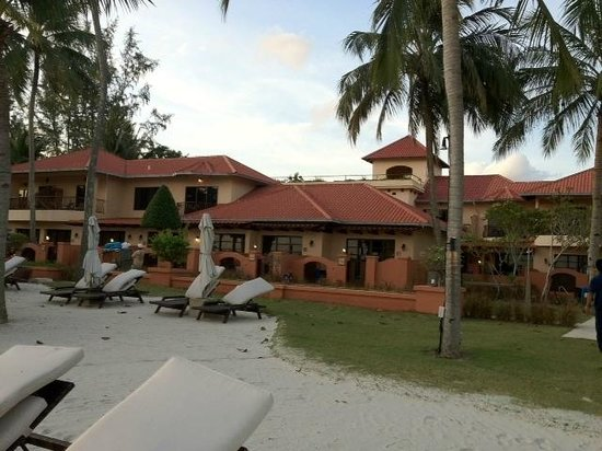 Casa del Mar, Langkawi:                   View from beach