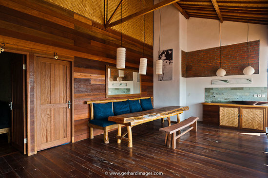 Villa Surya Abadi: Lounge on the top roof