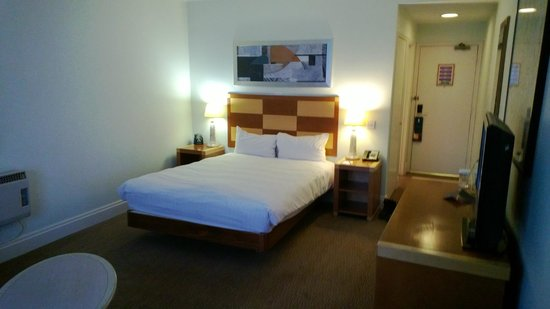 Hilton Maidstone: Fairly comfy bed