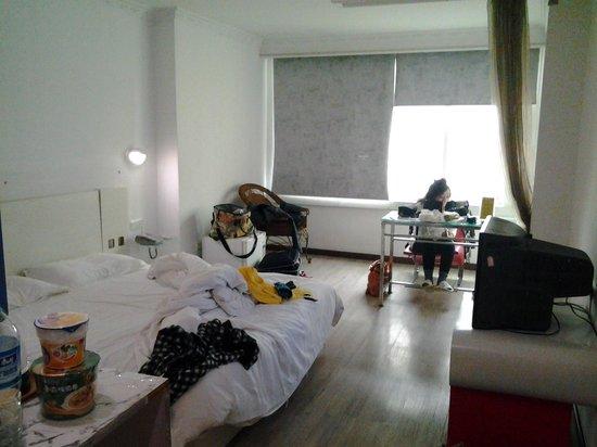 Xinghe Xiangjiang Hotel:                   Tampak dalam room