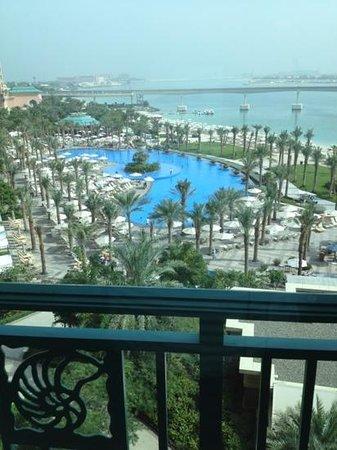 Atlantis, The Palm:                   vista do quarto