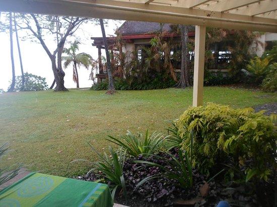 Shangri-La's Fijian Resort & Spa:                   Veiw from room, 426