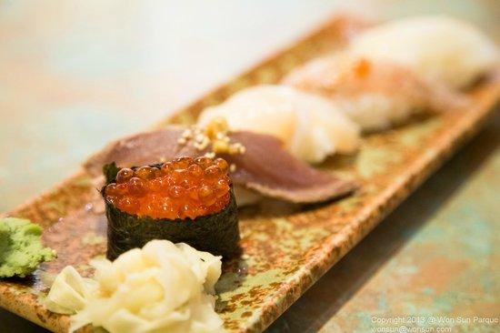 Yuzu : Nigiri sushi